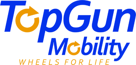 Top Gun Mobility Logo - XL