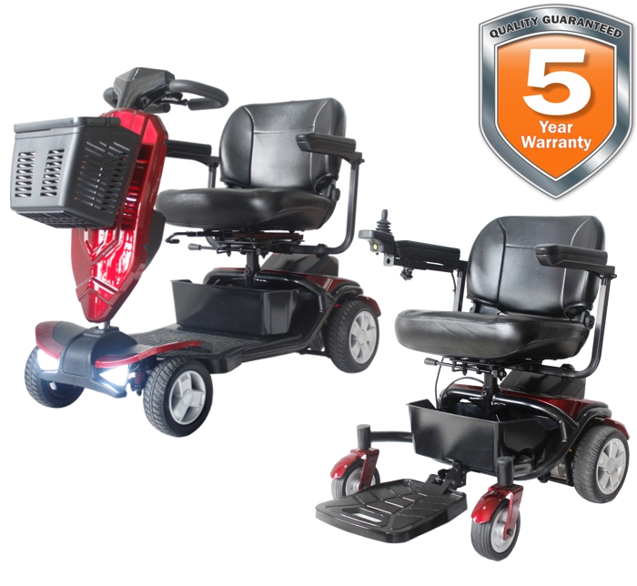Tranzforma Mobility Scooter Power Chair